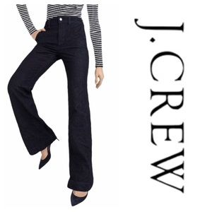 J.Crew Wide-Leg Trouser Jean Classic Rinse (26P)